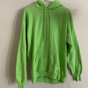 Hanes Lime Green Hoodie